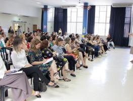 Thelma Polon apresenta abertura pedagógica 2018